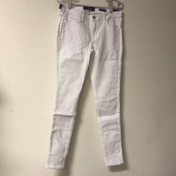 Hollister Denim - Hollister Jeans size 9R W 29 white low rise NWT